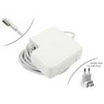 ALIMENTATORE COMPATIBILE PER MACBOOK MAGSAFE1 60W 16.5V 3.65A TECNO 7026