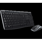 KIT TASTIERA + MOUSE WIRELESS LOGITECH MK270 LAYOUT ITALIANO