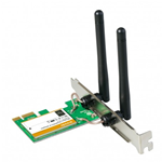 SCHEDA DI RETE WIRELESS TENDA NT-W322E 300MBPS PCI-EXPRESS DUE ANTENNE