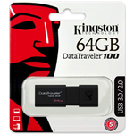 MEMORIA PENDRIVE USB KINGSTON 64GB DT100G3/64GB USB 3.0
