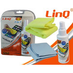 KIT SPRAY DI PULIZIA PER DISPLAY VETRI OCCHIALI LINQ CL-05