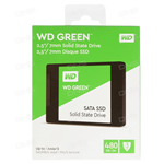 HARD DISK SSD SOLID STATE DISK 2.5 WESTERN DIGITAL 480GB GREEN SATA3 WDS480G2G0A