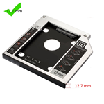 ADATTATORE PER HARD DISK SSD/HDD SATA PER NOTEBOOK CD/DVD 12.7MM EWENT