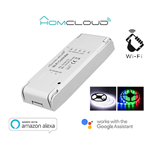 MODULO CONTROLLER STRIESCE LED WIFI 12-24V RGB + WHITE HOMCLOUD AS-SL1