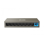 HUB SWITCH DI RETE IP-COM IC-1109D 10/100MBPS 9 PORTE ETHERNET IN METALLO