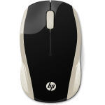 MOUSE OTTICO WIRELESS HP 2HU83AA NERO/ORO