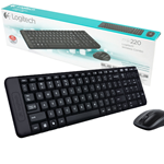 KIT TASTIERA + MOUSE WIRELESS LOGITECH MK220 LAYOUT ITALIANO DESKTOP 920-003721
