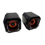 CASSE AUDIO SPEAKER 2.0 OVBOOST OB2031 ATOM 3WATT PER PC NOTEBOOK ALIMENTATE USB